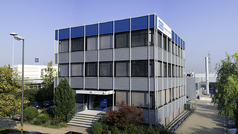 The company's headquarters - Heidelberg
