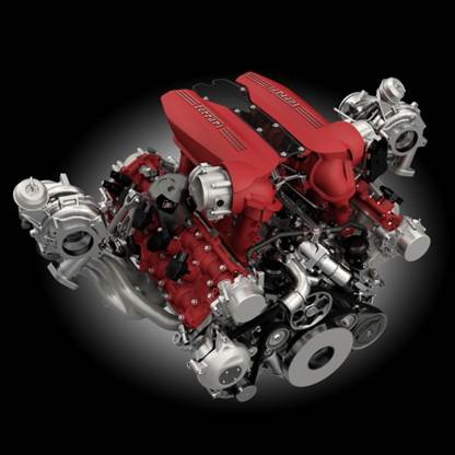 Congratulations To Ferrari The Winner Of The Engine Of The Year 2016 Ihi Charging Systems International